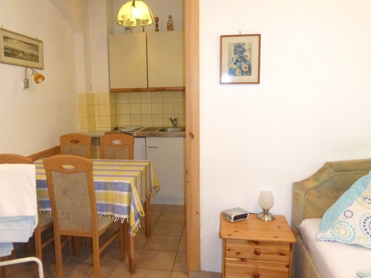 Küchenbereich unteres Appartement